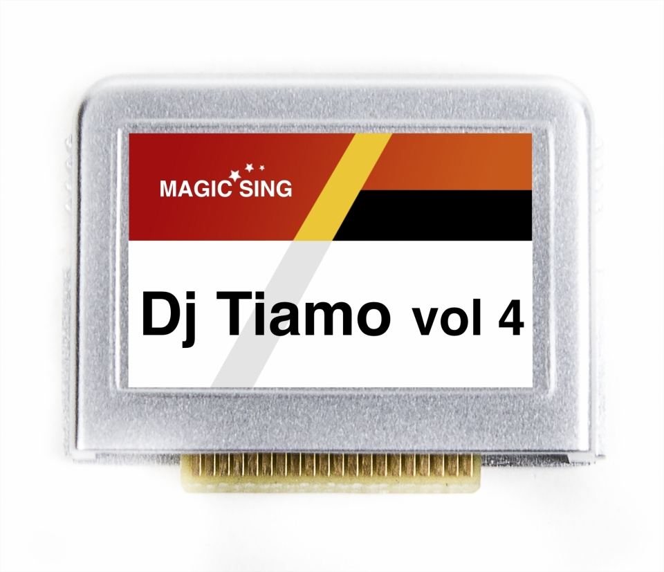 Dj Tiamo vol. 4 (English) 75 songs