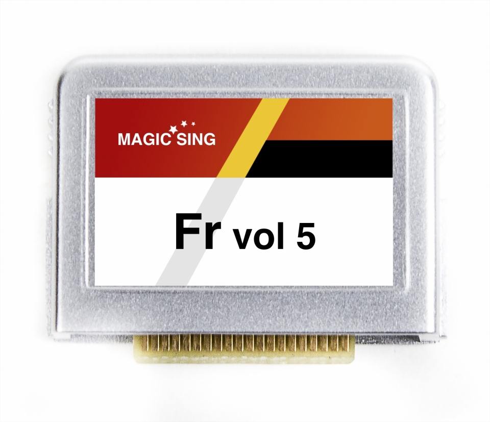 FRENCH VOL.5 (FRANS) 158 SONGS
